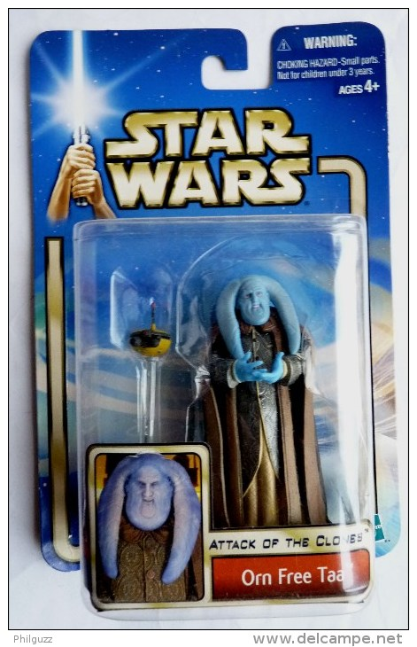 STAR WARS 1995 BLISTER ATTACK OF THE CLONE ORN FREE TAA - Episode II
