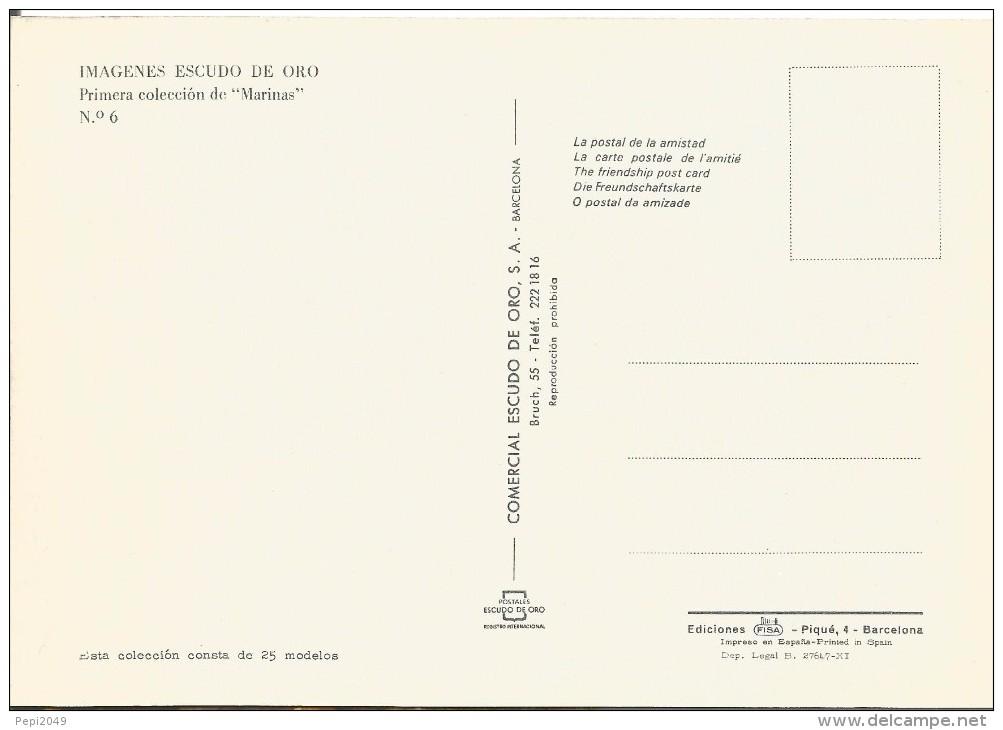 Z179 - POSTAL - IMAGENES ESCUDO DE ORO - PRIMERA COLECCION DE MARINAS - Nº 6 - Sin Clasificación