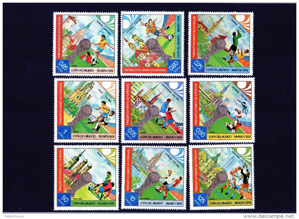 1974 Guinea Equatoriale - Campionati Mondiali In Germania - Coppa Del Mondo