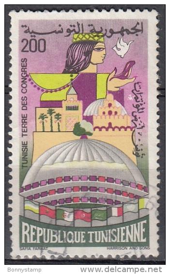 Tunisia, 1982  - Terre Des Congress - Usato° - Tunisia (1956-...)
