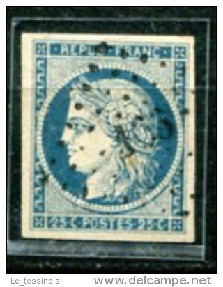 Type Cérès N° 4 Y&T  Obl. Petits Chiffres- Marges Coorrectes - Cote 60 € - 1849-1850 Ceres