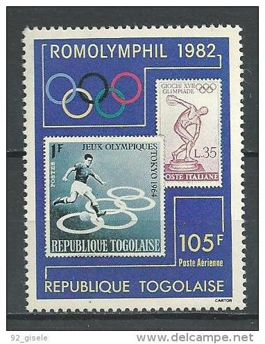 "Togo Aerien YT 476 (PA 476) "" Expo Philatélique "" 1982 Neuf ** - Togo (1960-...)"
