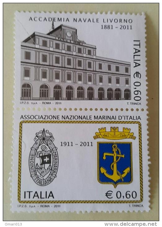 2011. Italie.  Association  Nationale Maritime. 200 Ans De L'Académie Navale - Italie