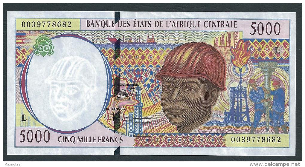 GABON (Central African States) : 5000 Francs  - 2000 - UNC - Guinée Equatoriale