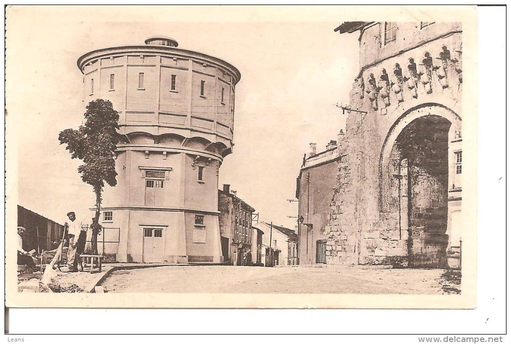 VERDUN  La Porte Chatel Et Chateau D'eau - Châteaux D'eau & éoliennes