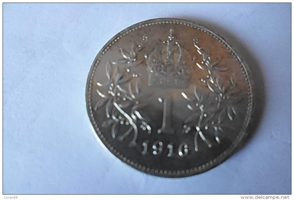 Pièce 1 Corona Autriche 1916 - Autriche