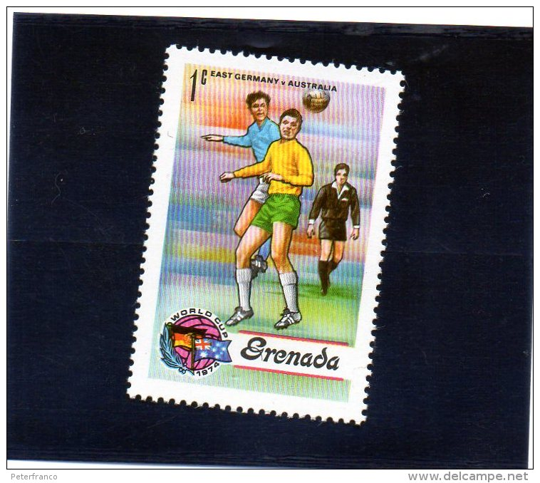 1974 Grenada - Campionati Mondiali In Germania - Coppa Del Mondo