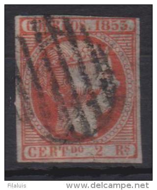 02112 España Edifil 19 O Catalogo 4675,- Euros - 1850-68 Reino: Isabel II