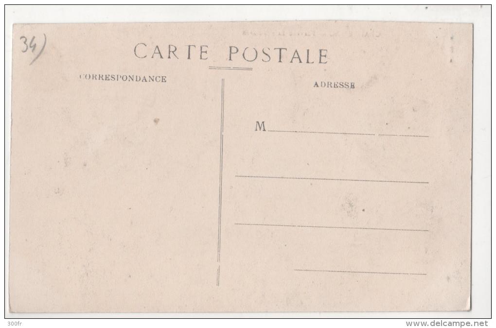 CP GRAISSESSAC PLATEAU SAINTE BARBE  (34 HERAULT) Animée MINE USINE - Autres Communes