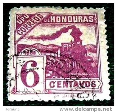 Honduras,1898,Lokomotive. - Honduras