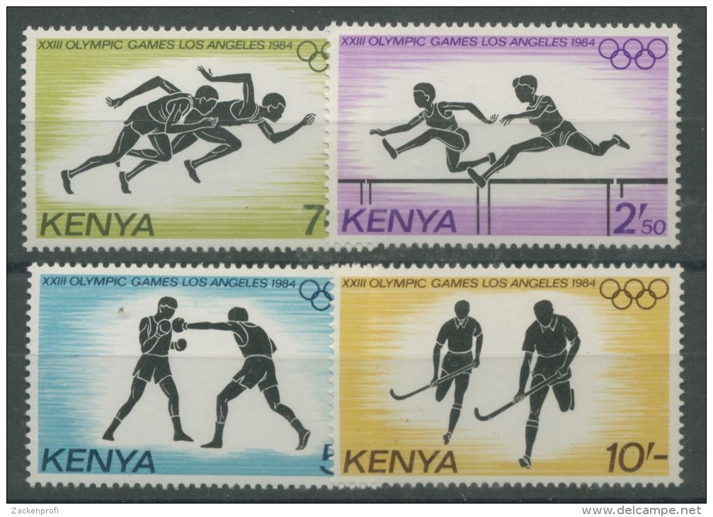 Kenia 1984 Olympiade Los Angeles 292/5 Postfrisch - Kenia (1963-...)