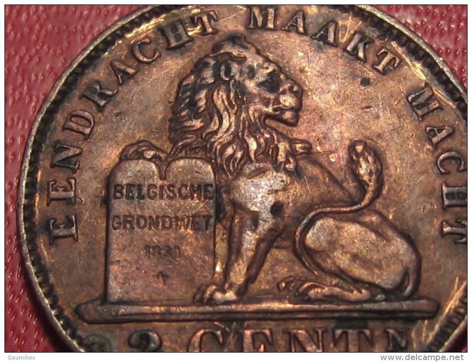 7868 Belgium - Belgique - 2 Centimes 1911, Der Belgen - 1909-1934: Albert I