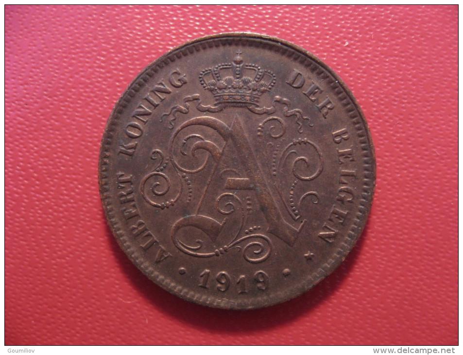 7873 Belgium - Belgique - 2 Centimes 1919, Der Belgen - 02. 2 Centimes