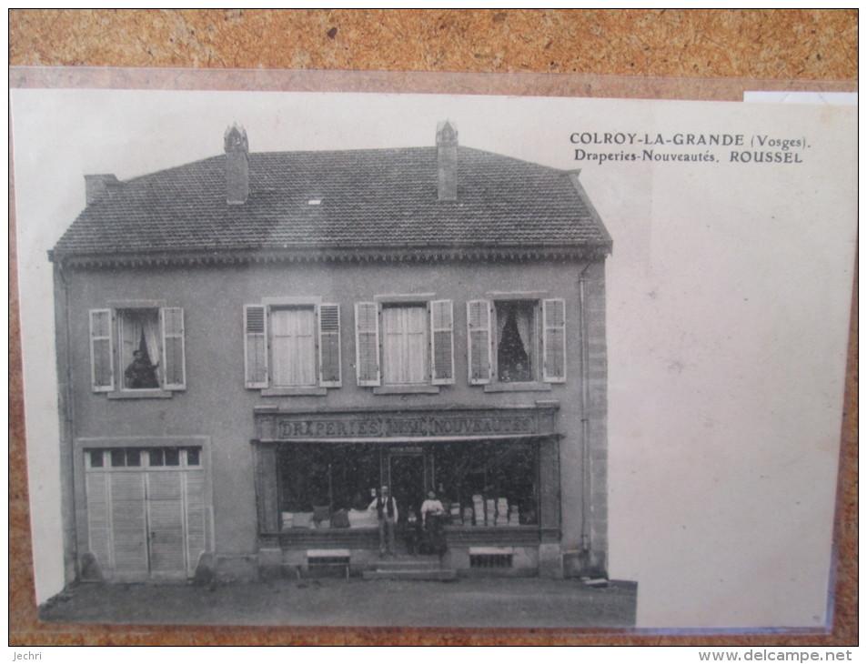 COLROY LA GRANDE DRAPERIE NOUVEAUTES ROUSSEL  RARE - Colroy La Grande