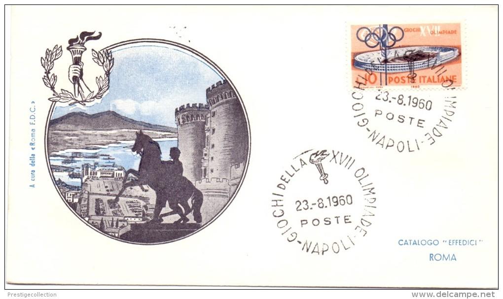 GIOCHI DELLA XVII OLIMPIADE 1960 ROMA VILLAGGIO OLIMPICO - Francobolli