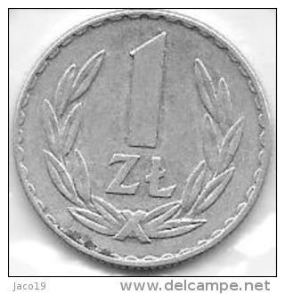 1 Zloty 1973  Clas D 121 - Pologne