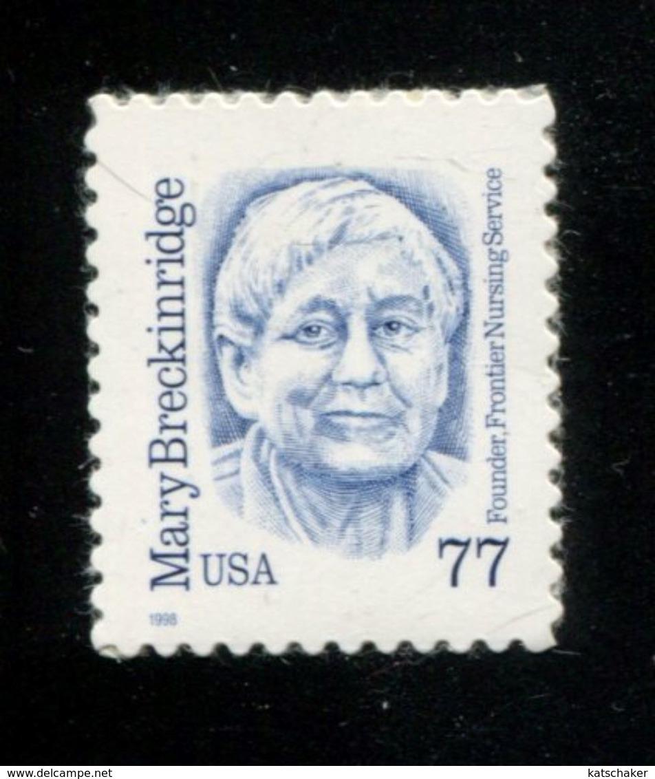 229058620 USA 1998 ** MNH SCOTT 2942 Great Americans MARY BRECKINRIDGE - Unused Stamps