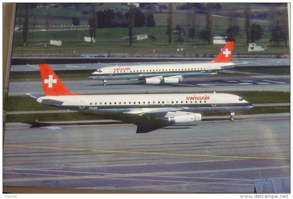 DC 8 62    SWISSAIR   HB IDG - 1946-....: Era Moderna