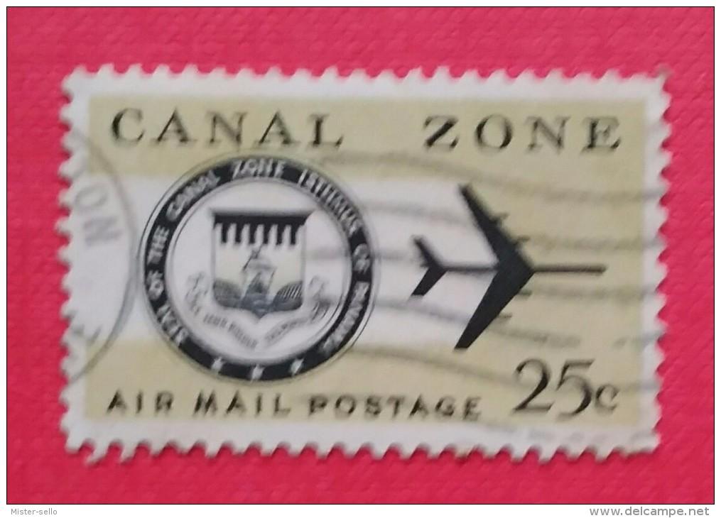ESTADOS UNIDOD - USA. POSESIONES CANAL ZONE. USADO - USED - Zona Del Canal