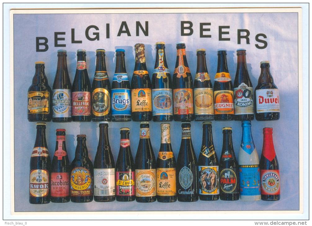 AK Bier Belgien Belgian Beers België Bières Belges Leffe Brugs Duvel Westmalle Belgium Belgique Bier Pivo Piwo Beeri - Handel