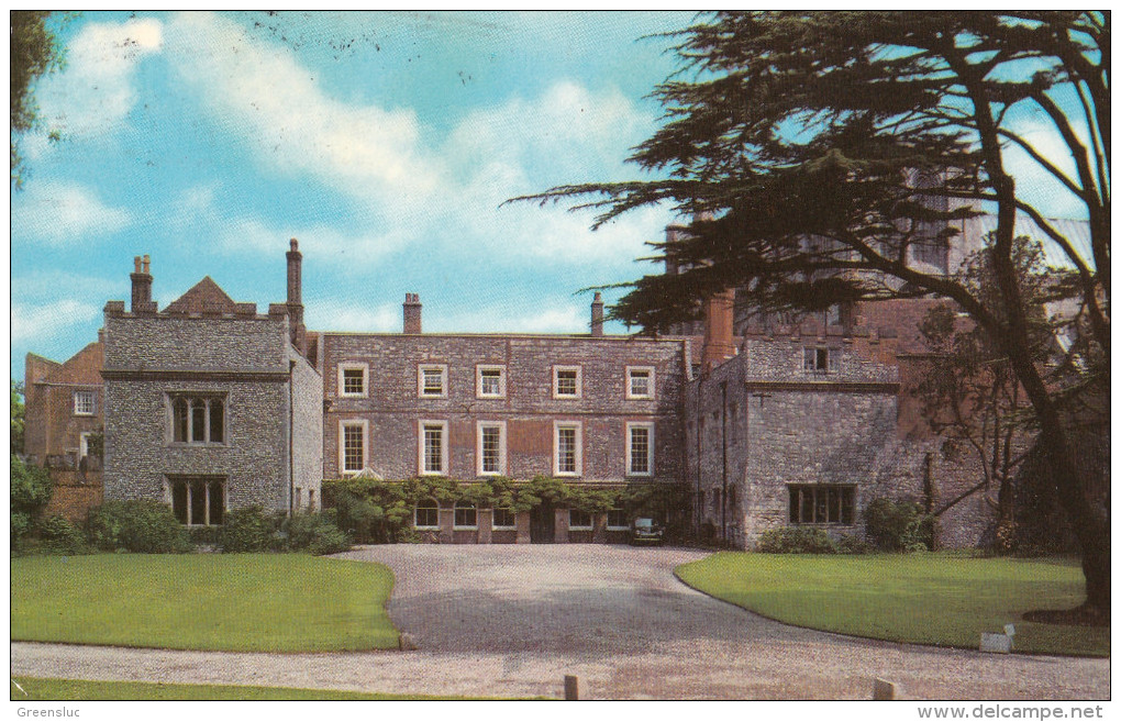 Angleterre. Sussex.  Chichester : The Bishop´s Palace. Cpsm Voyagée 1977 - Chichester