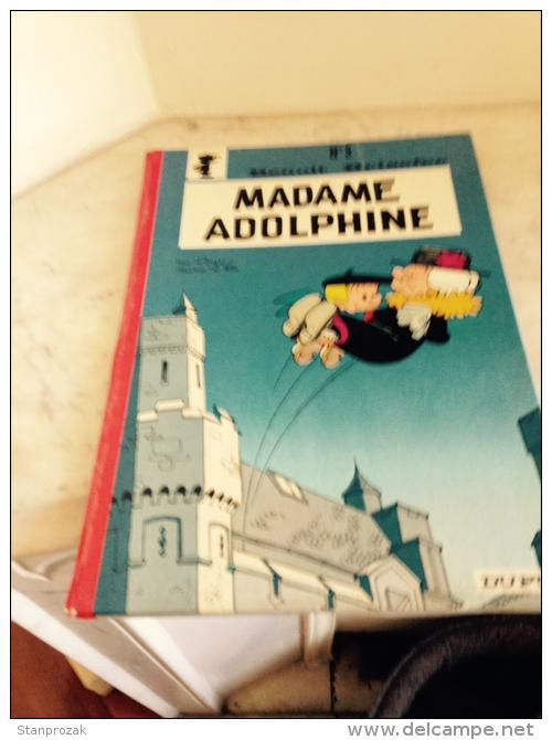 Benoit Brisefer Madame Adolphine Réed Dos Rond 1974 - Benoît Brisefer