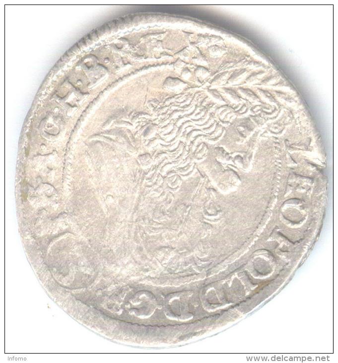 Hungary 3 Krajczar 1690 KB Leopold - Hungary