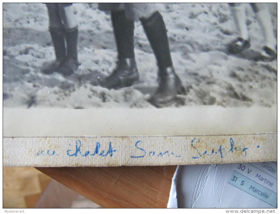 C1  PHOTO CERF VOLANT  JOUET ANCIEN  / LIEUX A IDENTIFIER LE PORTEL ???CHALET SUPLAY ??? - Postcards