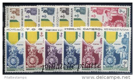 1952** Centenaire De La Médaille Militaire - France (former Colonies & Protectorates)