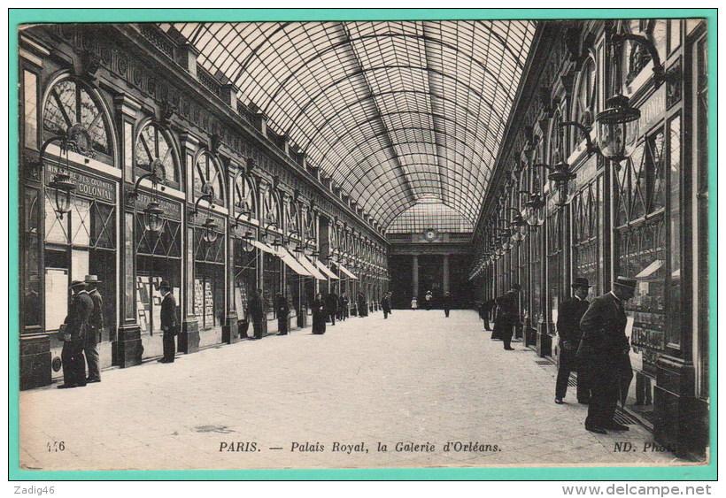 PARIS - PALAIS ROYAL - LA GALERIE D'ORLEANS - District 01