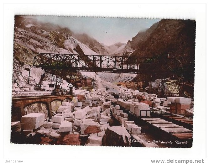 CARTOLINA DI CARRARA - MASSA - 3 - Carrara