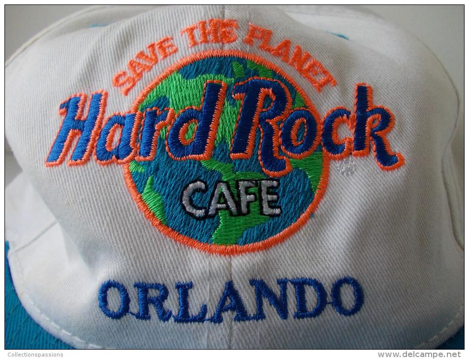 - Casquette Hard Rock Café - Orlando - Floride - USA - - Casquettes & Bobs