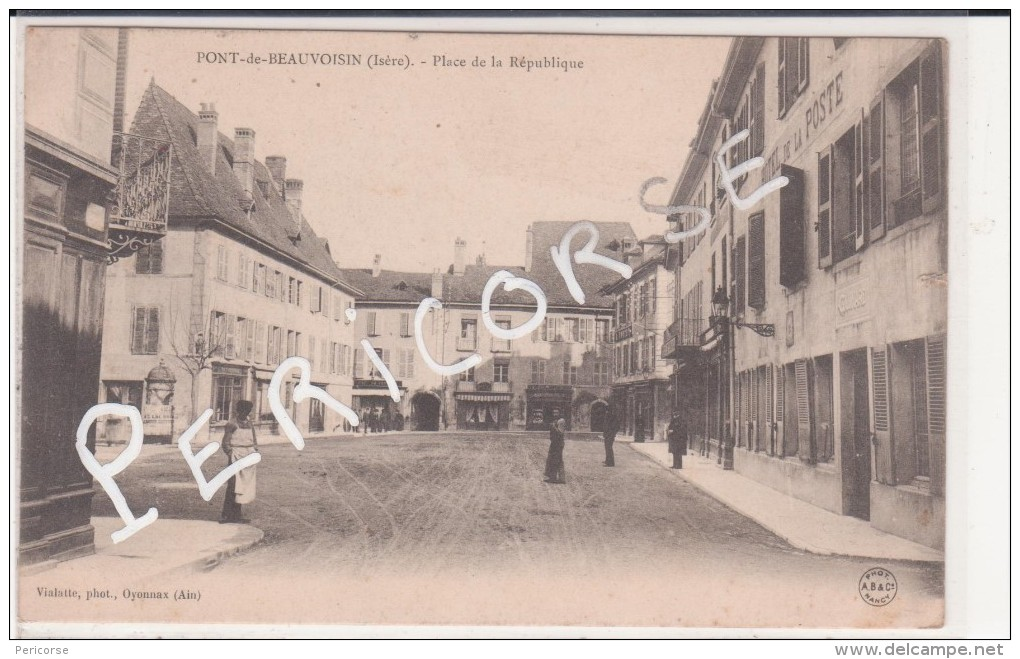 38  Pont De Beauvoisin  Place De La Republique - Francia