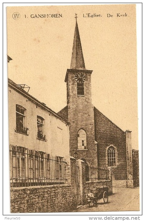 GANSHOREN - L'Eglise / De Kerk. - Ganshoren
