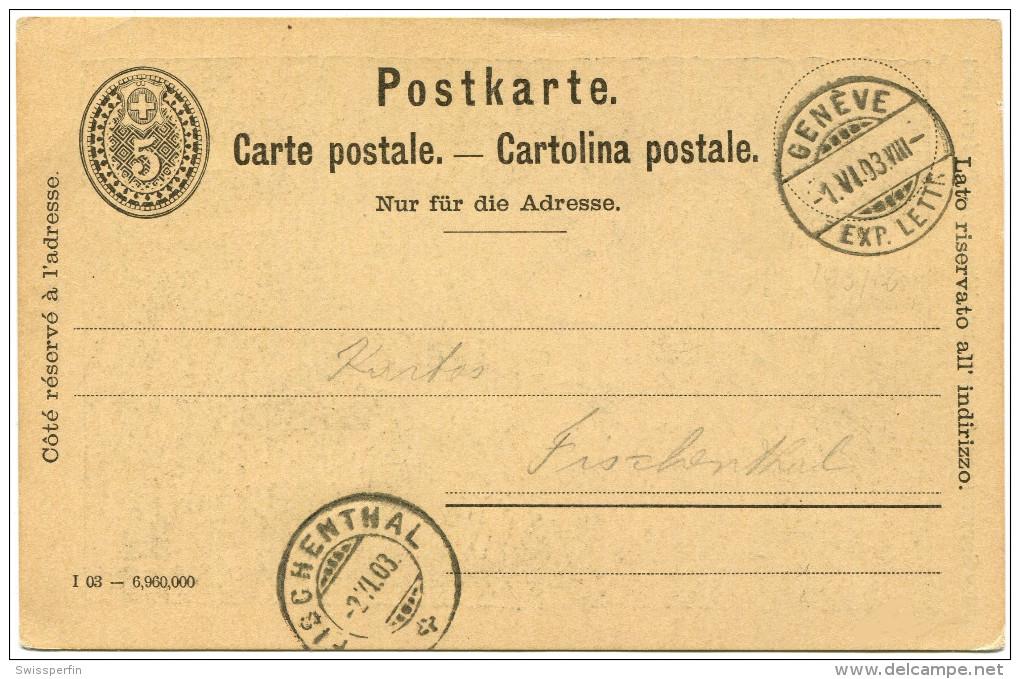 705 - Ganzsachen-Postkarte Mit Privatzudruck Cortege De L Escalade Geneve - Entiers Postaux
