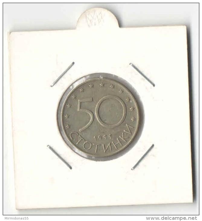 50 Stotinki 1999 - Bulgaria Coin - Bulgaria