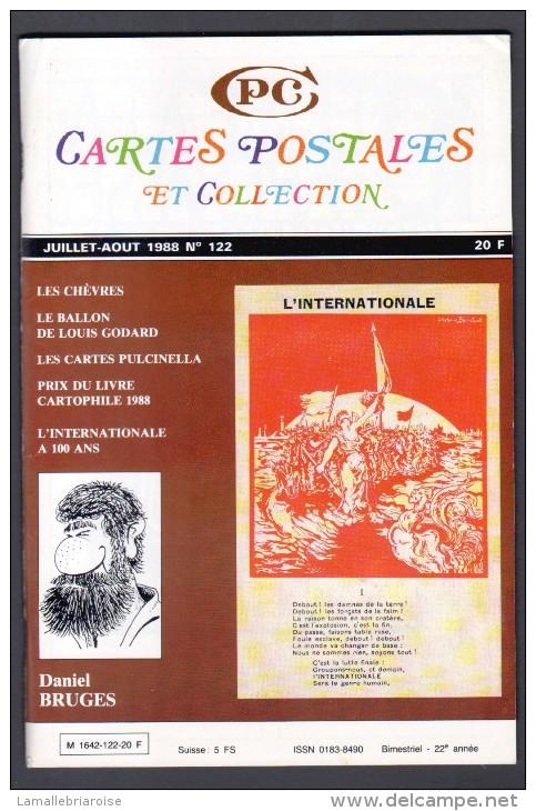 REVUE: CARTES POSTALES ET COLLECTION, N°122, JUILLET AOUT 1988 - Français