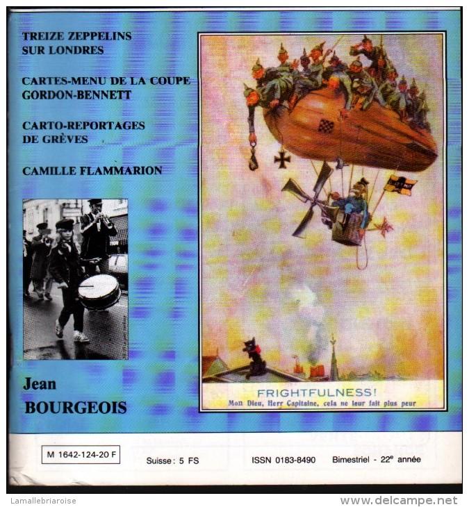 REVUE: CARTES POSTALES ET COLLECTION, N°124, NOV DEC 1988 - Français