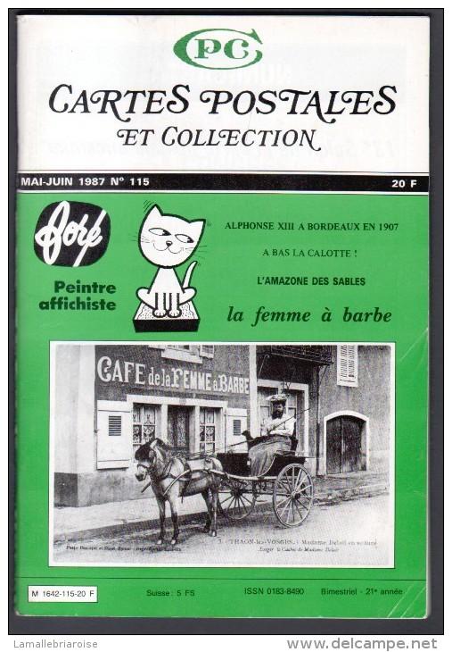 REVUE: CARTES POSTALES ET COLLECTION, N°115, MAI JUIN 1987 - Français