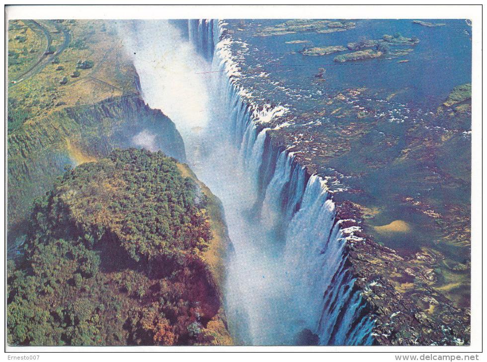PK-CP Simbabwe, Victoria Falls, Gebraucht, Siehe Bilder!*) - Simbabwe