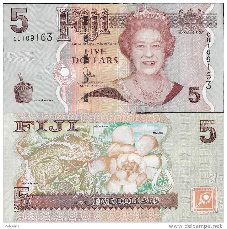 Fiji 2007 - 5 Dollars - Pick 110 UNC - Fidji