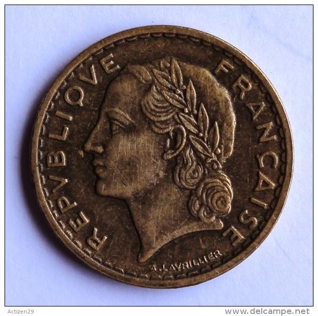5 F LAVRILLIER Bronze 1940 - France