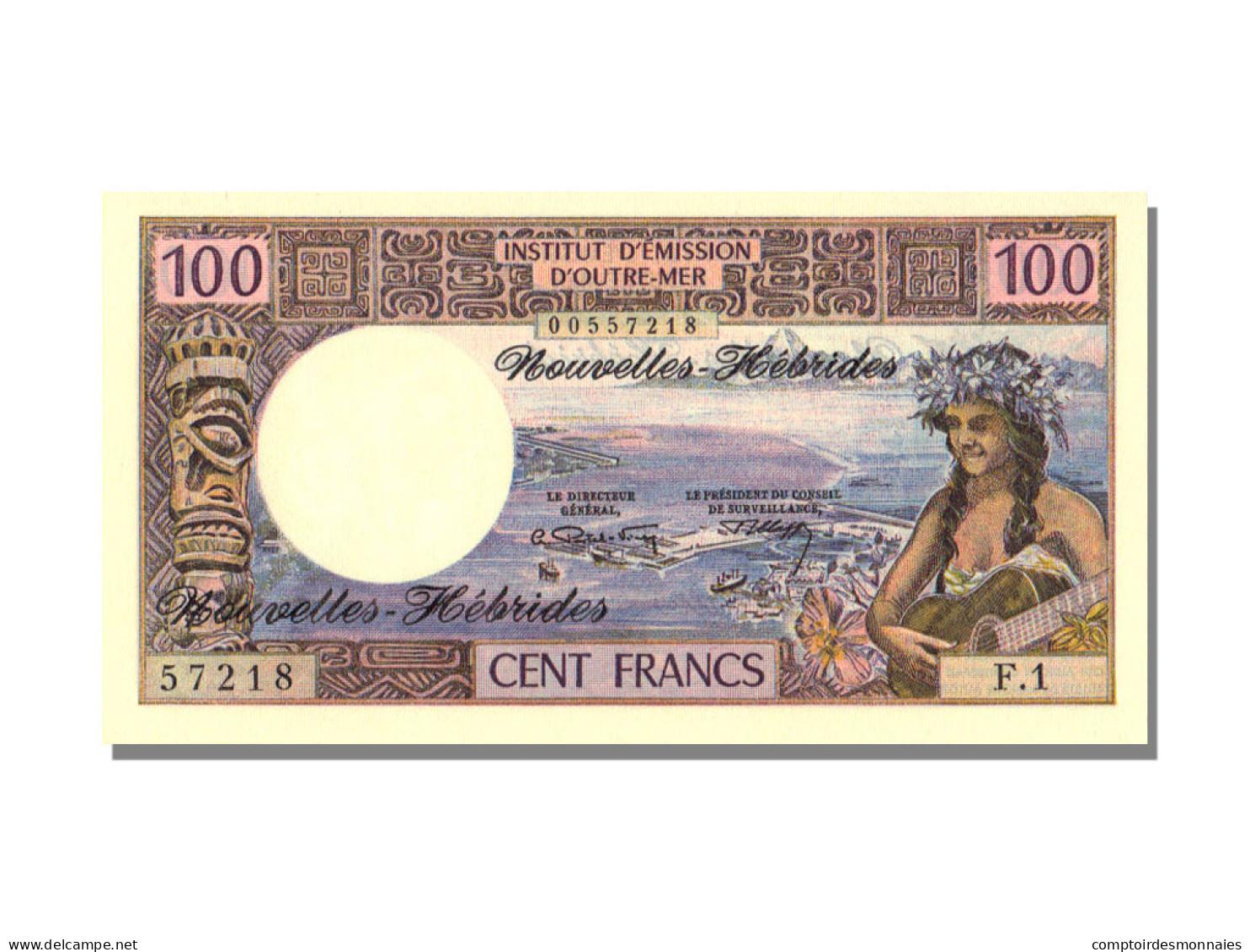 100 Francs Type 1970 - Vanuatu