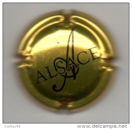 Capsule Alsace - Capsules & Plaques De Muselet