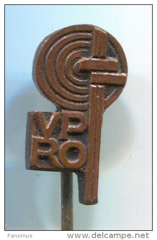VPRO -  Vintage Pin Badge - Markennamen