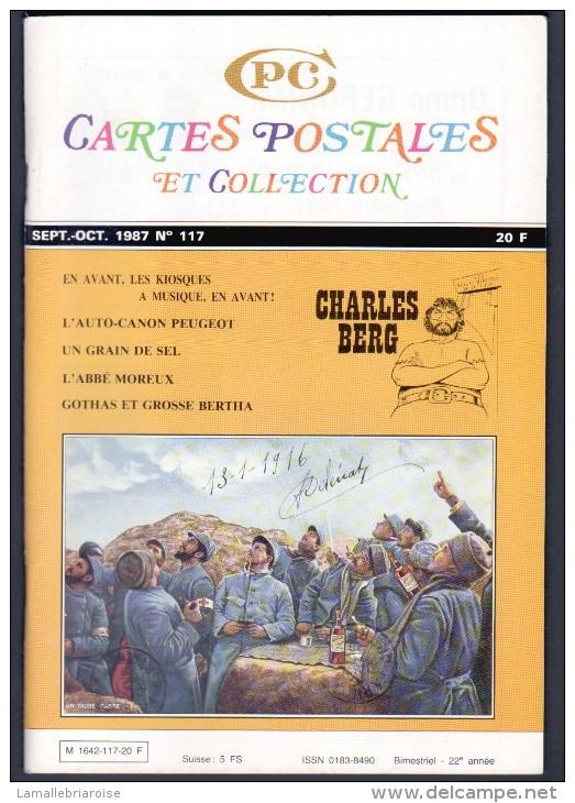 REVUE: CARTES POSTALES ET COLLECTION, N°117 , SEPT OCT 1987 - Français