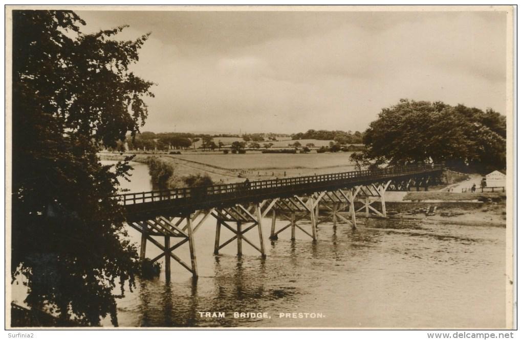 LANCS - PRESTON - TRAM BRIDGE RP  La1746 - Other