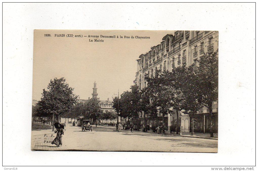(75) PARIS (XII° Arrt) Avenue Daumesnil à La Rue De Charenton -La Mairie - France