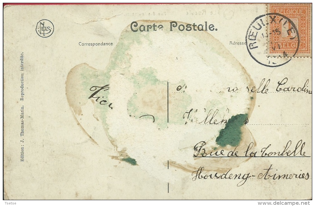 Le Roeulx - Rue Des Tourneurs - 1914 ( Voir Verso ) - Le Roeulx