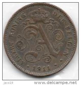 2 Centimes Cuivre 1911 FL  Clas D 137 - 02. 2 Centimes